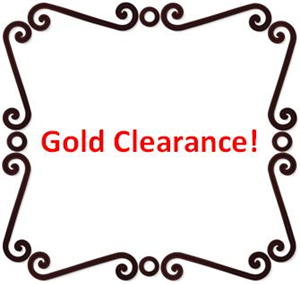 Gold Clearance