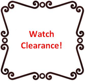 Watch Clearance