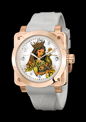 Queen Of Clubs Christian Audigier Watch
