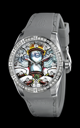 Hourglass Ladies Christian Audigier Watch