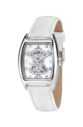 Bird Cage White Christian Audigier Watch