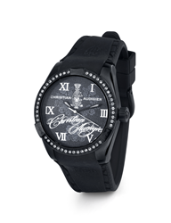 Midnight Blossom Christian Audigier Watch