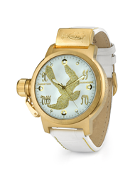 Gold Panther Christian Audigier Watch