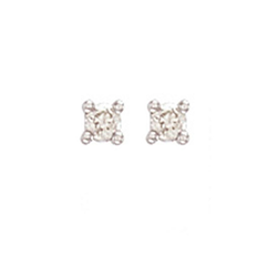 0.15Ct Hsi Diamond Studs 18ct White