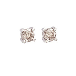 0.25Ct Hsi Diamond Studs 18ct White