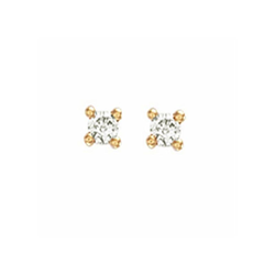 0.15Ct Hsi Diamond Studs 18ct Yellow