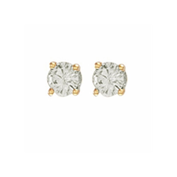 0.50Ct Hsi Diamond Studs 18ct Yellow