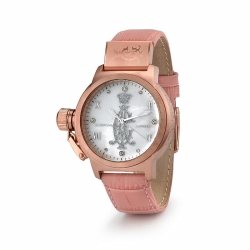 Quantum Pink Ca Watch