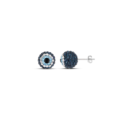 10mm Evil Eye Studs Earrings