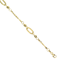 Gold Fancy Ladies Bracelet