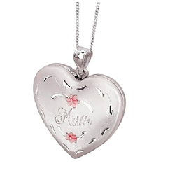 Sterling Silver Mum Locket
