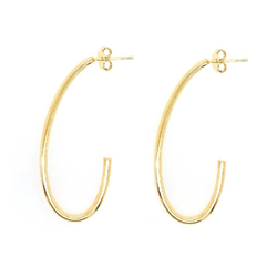 9ct Gold J Earring