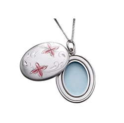 Sterling Silver 20mm Swing Locket