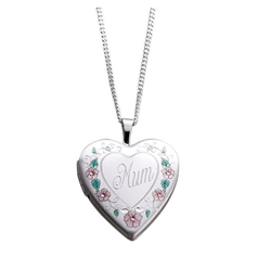 Sterling Silver 20mm MUM Locket