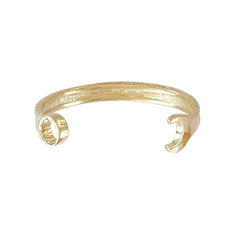 9ct Yellow Gold Kids Spanner Bangle