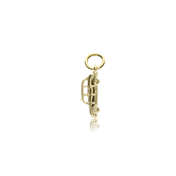 9ct Yellow Gold Taxi Cab Pendant