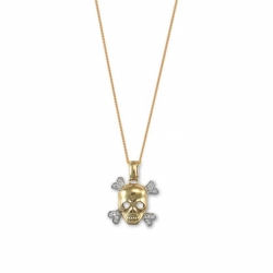 Skull And Crossbone On Chain - Y