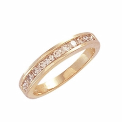0.50Ct Diamond Channel Set Ring Y