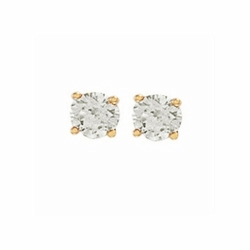 0.75Ct Diamond Studs (18ct Yellow)