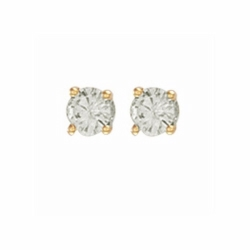 0.50Ct Diamond Studs (18ct Yellow)