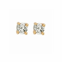 0.25Ct Diamond Studs (18ct Yellow)