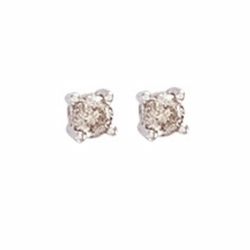 0.25Ct Diamond Studs (18ct White)
