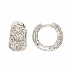 Diamond Earrings White Gold