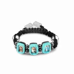 Kamara Blue Baby Saints Bracelet