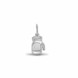 Single Boxing Glove Pendant 925