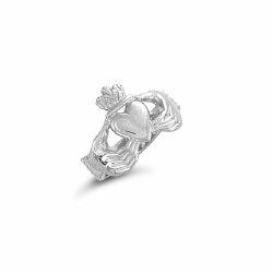 Sterling Silver Claddagh Ring Size X