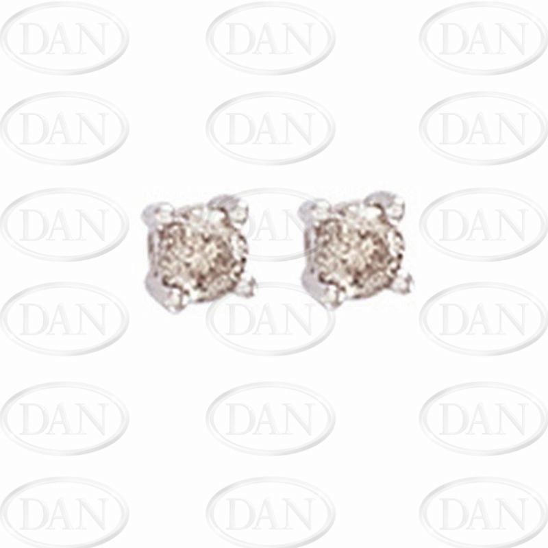 0.25Ct Hsi Diamond Studs 18ct White