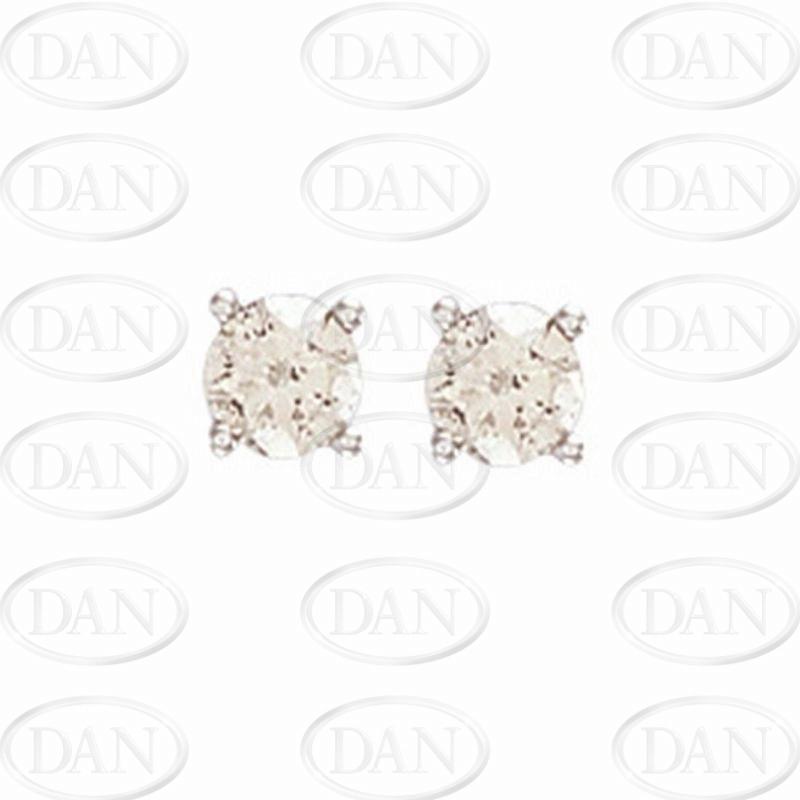 0.75Ct Hsi Diamond Studs 18ct White