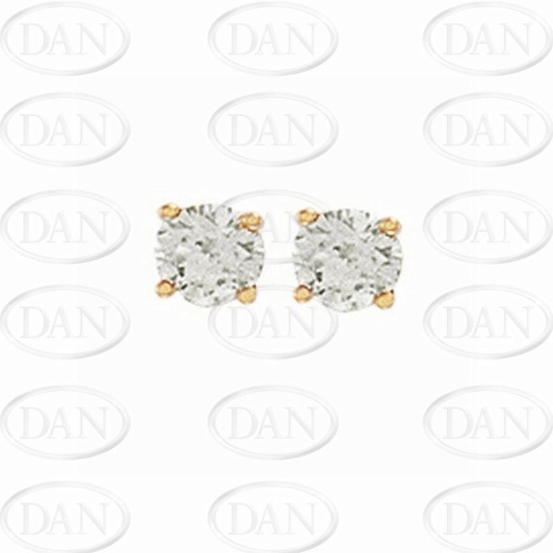 0.75Ct Hsi Diamond Studs 18ct Yellow