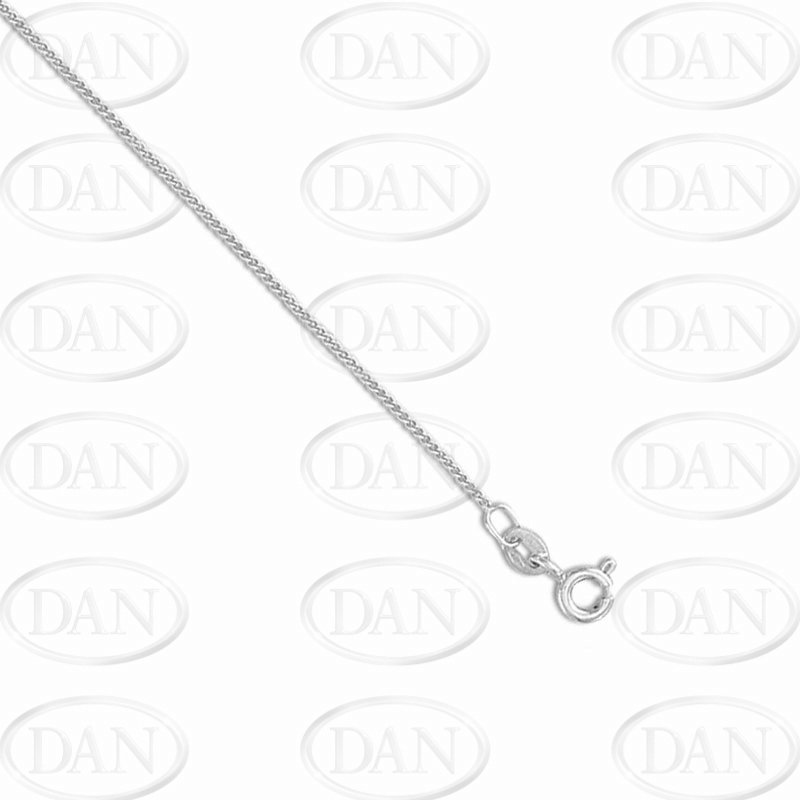 Traditional Curb Chain 18ct White