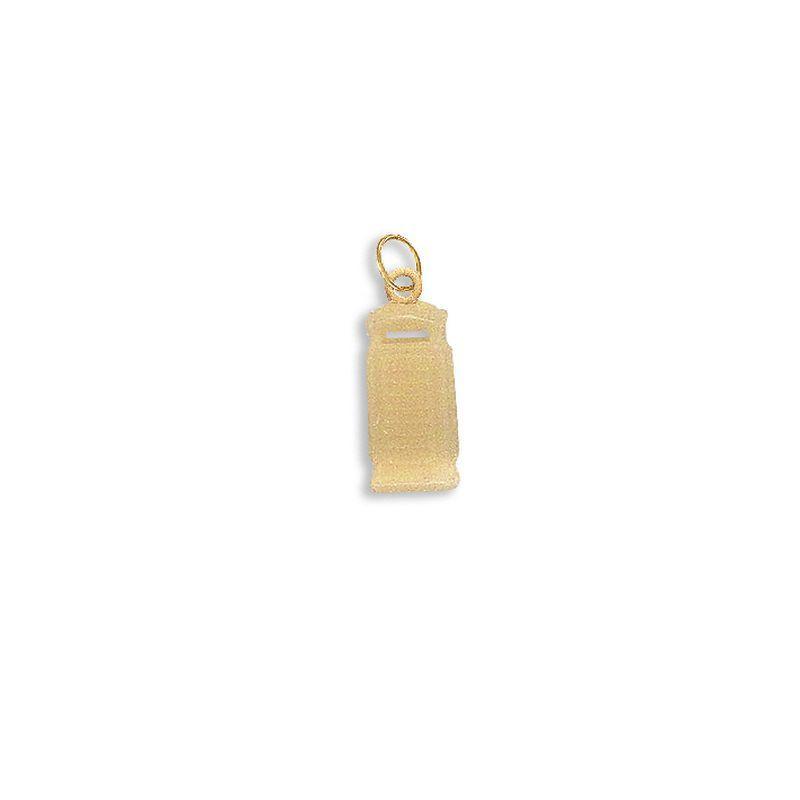 Telephone Box Charm Pendant