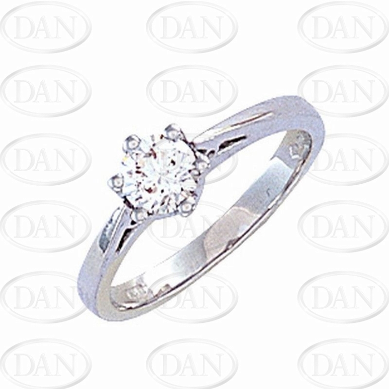 0.50Ct Hsi Diamond Ring Platinum