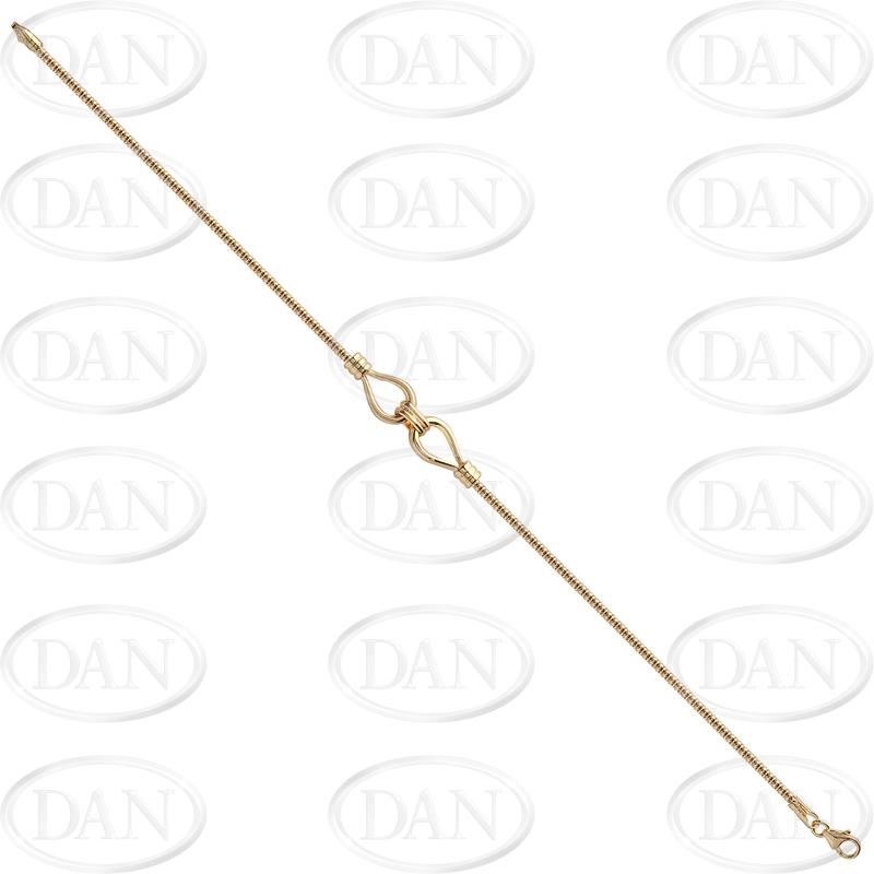 9ct YG Fancy Ladies Bracelet