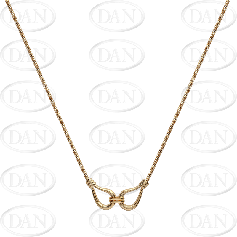 9ct Yellow Gold Fancy Ladies Necklace Chain