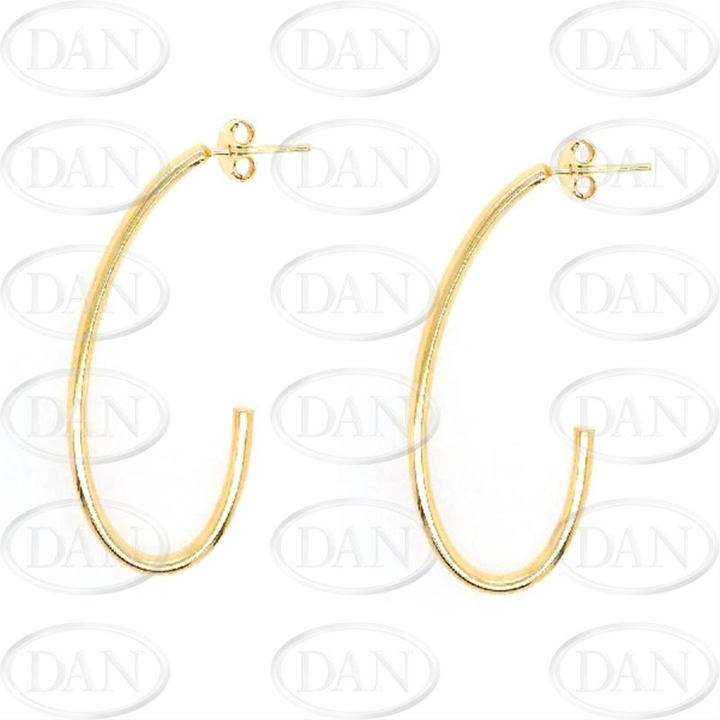 9ct Gold J Earring