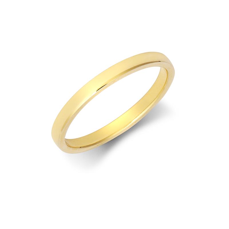 2mm Light Court Wedding Ring