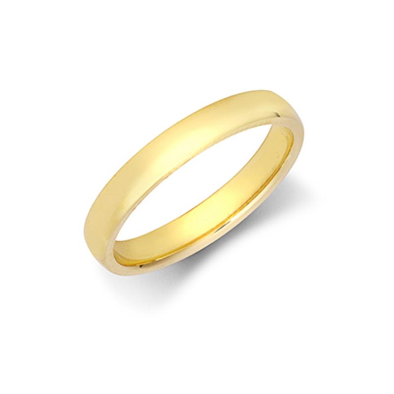 3mm Light Court Wedding Ring