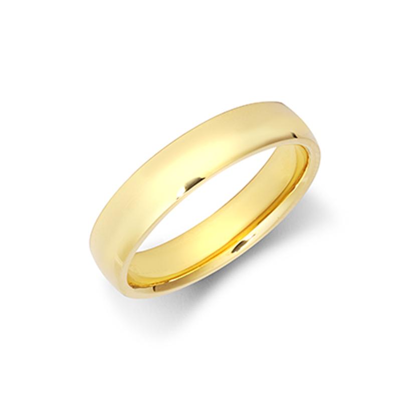 4mm Light Court Wedding Ring