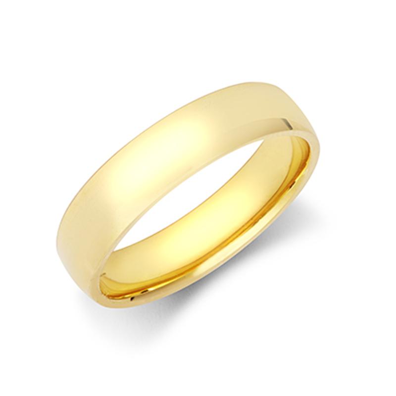 5mm Light Court Wedding Ring