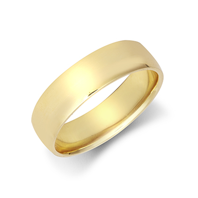 6mm Light Court Wedding Ring