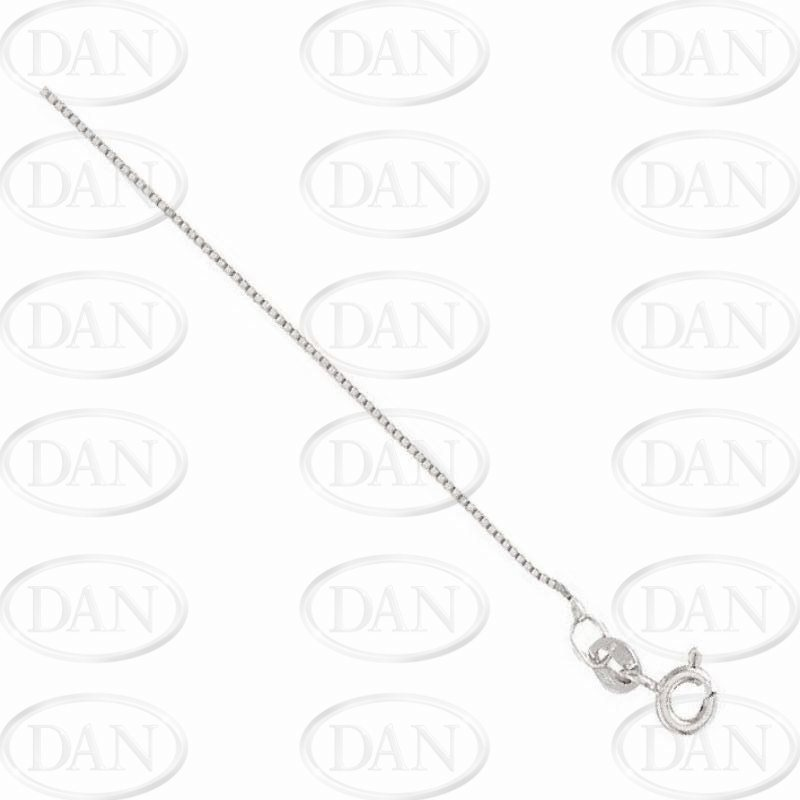 18Ct White Box Chain