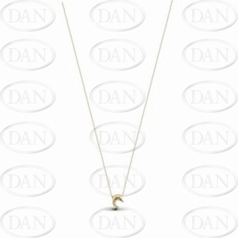 Dolphin Charm On Chain 9ct Yellow