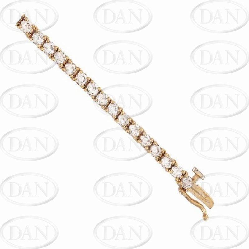 18 Ct. Gold Diamond Bracelet