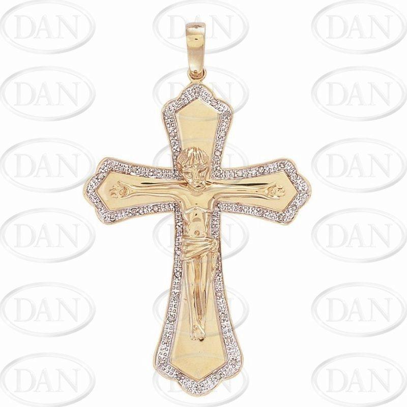 Diamond Crucifix Pendant (DCR98)