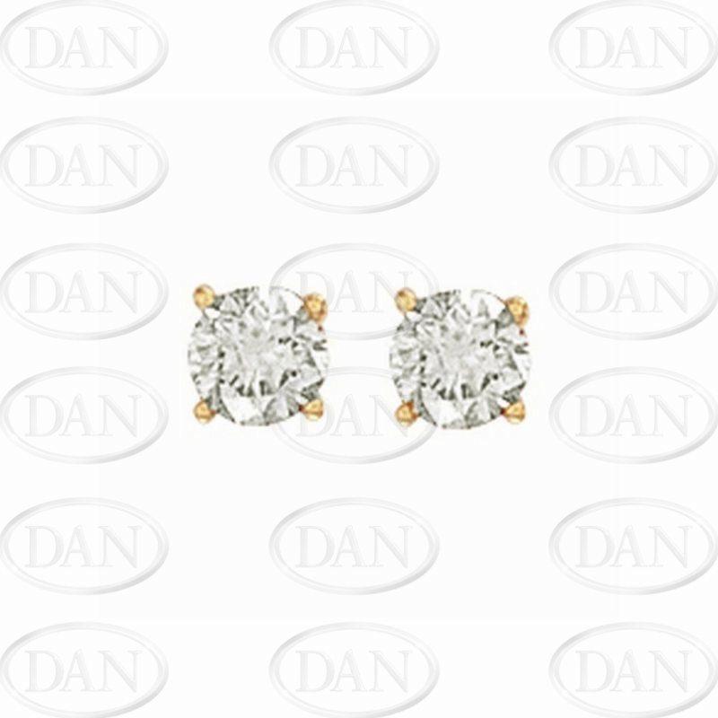 1Ct Diamond Studs (18ct Yellow)