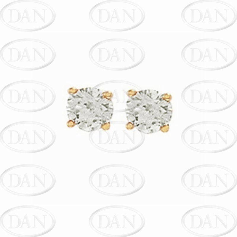 0.75Ct Diamond Studs (18ct Yellow)